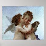 Bouguereau's L'Amour et Psyche, enfants (Cupid)