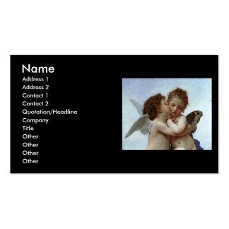 Bouguereau's L'Amour et Psyche, enfants (Cupid) Business Card