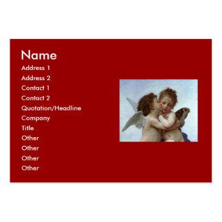 Bouguereau's L'Amour et Psyche, enfants (Cupid) Business Card Template
