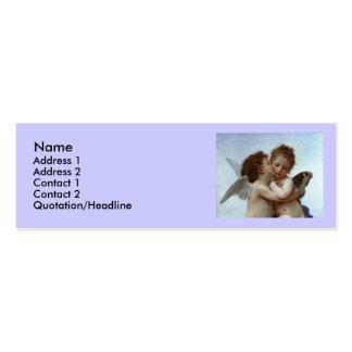 Bouguereau's L'Amour et Psyche, enfants (Cupid) Pack Of Skinny Business Cards