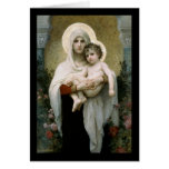Bouguereau's The Madonna of the Roses (1903) Cards