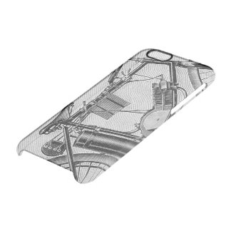 Bouilly Motorcycle, 1895 Clear iPhone 6/6S Case