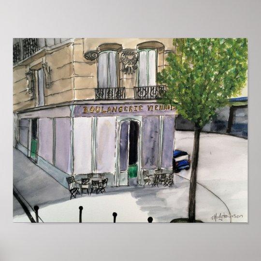 Boulangerie Paris - Poster