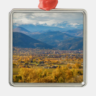 Boulder Colorado Autumn Scenic View Christmas Ornament