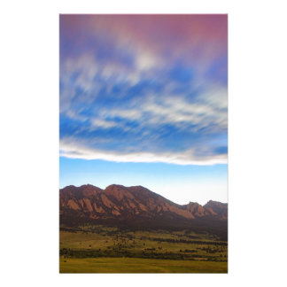 Boulder Colorado Dreaming Personalised Stationery