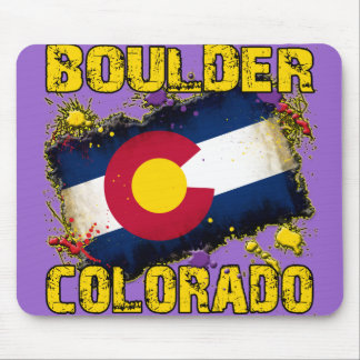 Boulder, Colorado Mouse Pad