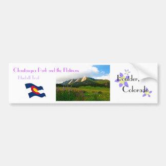 Boulder, Colorado Vintage Style Bumper Sticker