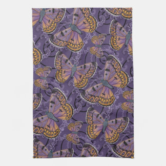 Boulder Copper Butterfly Tea Towel