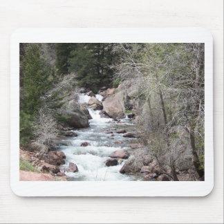Boulder creek mouse pad
