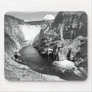 Boulder Dam (aka Hoover Dam) by Ansel Adams Mouse Pad