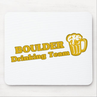 Boulder Drinking Team tee shirts Mouse Pad