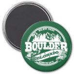 Boulder Old Circle Green Magnets