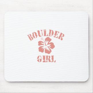 Boulder Pink Girl Mousepad