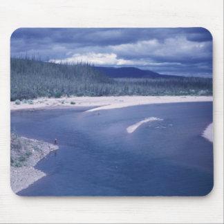 Boulder Point on the Coleen River Alaska Mousepads