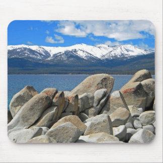 Boulder Shore Lake Tahoe Mousepad