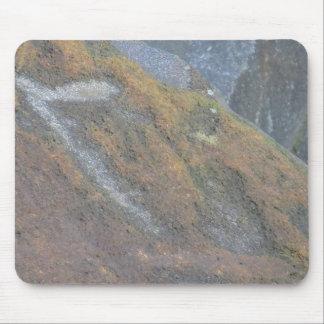 Boulder Surface Texture Mousepad