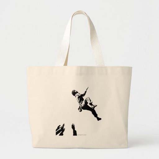 Bouldering Graphic Tote Bag