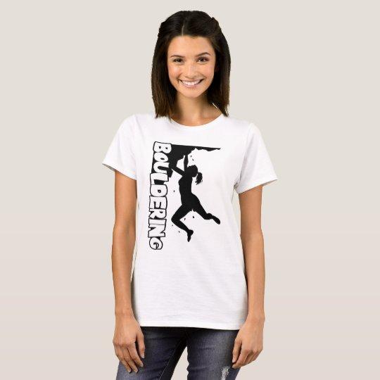 Bouldering Print Women T-Shirt