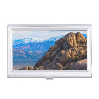 Boulders and Mountains Business Card Holder