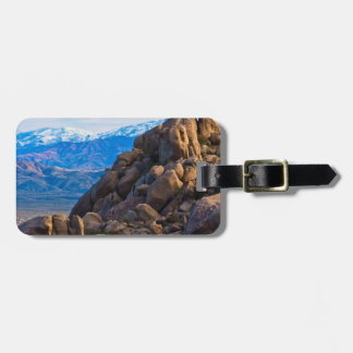 Boulders and Mountains Luggage Tag