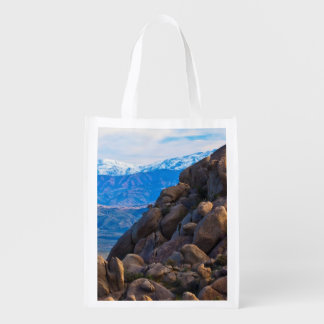 Boulders and Mountains Reusable Grocery Bag