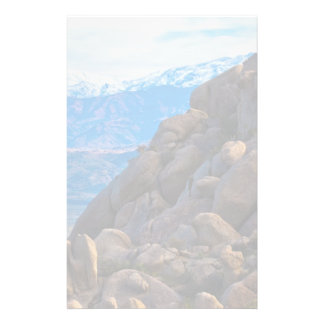 Boulders and Mountains Stationery