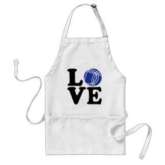 Boule petanque love apron