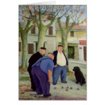 Boules Players Card