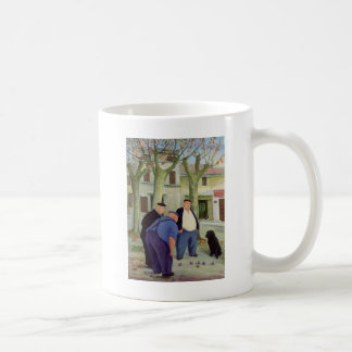 Boules Players Coffee Mug