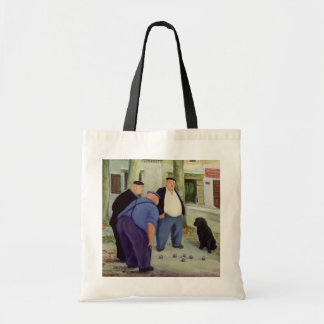 Boules Players Tote Bag