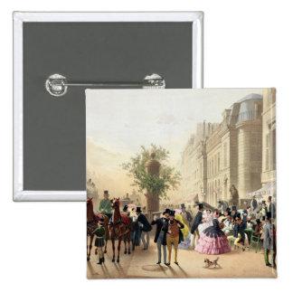 Boulevard des Italiens 15 Cm Square Badge