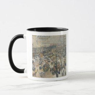 Boulevard des Italiens, Morning, Sunlight, 1897 Mug
