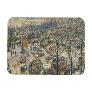 Boulevard des Italiens, Morning, Sunlight, 1897 Rectangular Photo Magnet