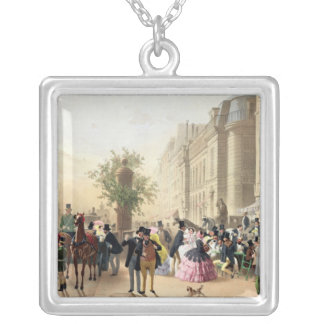Boulevard des Italiens Silver Plated Necklace