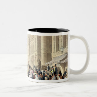 Boulevard des Italiens Two-Tone Coffee Mug