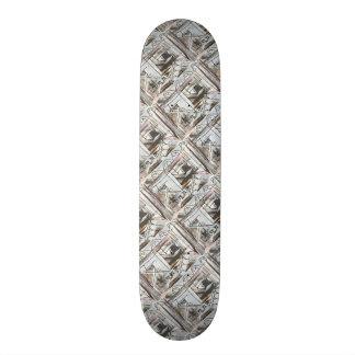 Boulevard-Hand Painted Abstract Brushstrokes 20 Cm Skateboard Deck