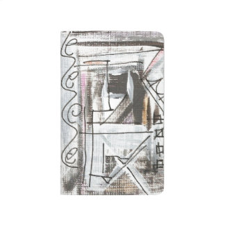 Boulevard-Hand Painted Abstract Brushstrokes Journals