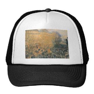 Boulevard of Capucines by Claude Monet Cap