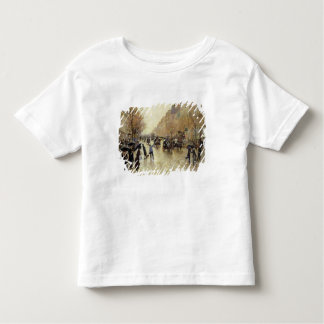 Boulevard Poissonniere in the Rain, c.1885 Toddler T-Shirt