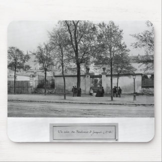 Boulevard Saint-Jacques Mouse Mat