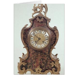 Boulle bracket clock by A.Brocot Delettrez Card