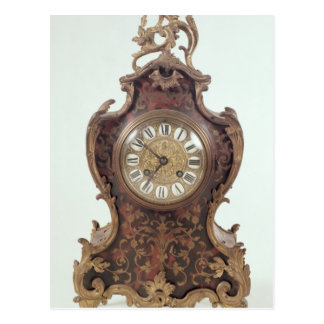 Boulle bracket clock by A.Brocot Delettrez Postcard