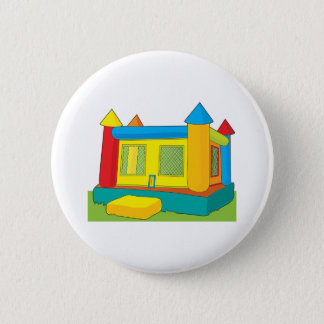 Bounce Castle 6 Cm Round Badge