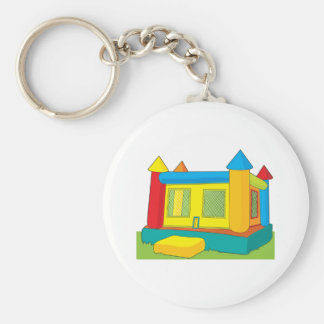 Bounce Castle Key Ring
