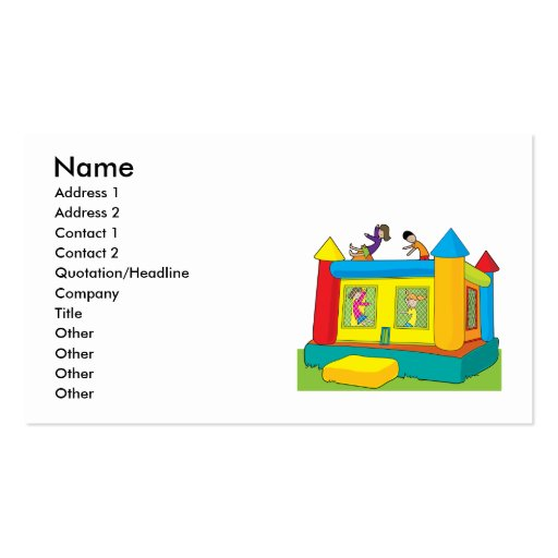 Collections Of Kid Business Cards - Kid business card template