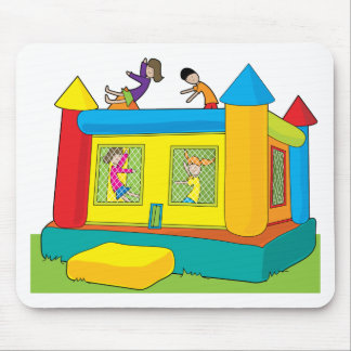 Bounce Castle Kids Mouse Mat