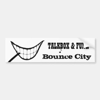 Bounce City Type1 Bumper Stickers