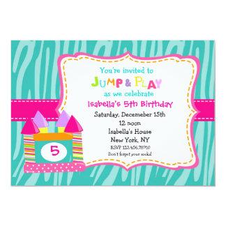 Bounce House Bounce Castle Birthday Invitations