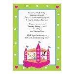 Bounce House Invitations: Hearts