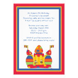 Bounce House Invitations: Whimsy Boys